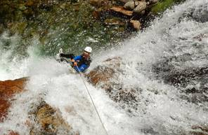 Descente en Canyoning en Ariège près de Foix