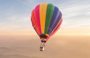 Vol en montgolfière dans le Nord Pas de Calais du côté d'Arras et de Lens