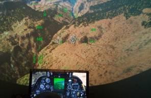 Simulateur de Vol en Avion de Chasse à Nîmes