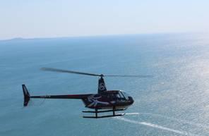 Baptême en Hélicoptère dans l'Aude - Vol en hélicoptère à Saint Pierre Fleury