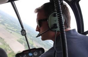 Baptême en Hélicoptère dans la Loire - Vol en hélicoptère à Saint Etienne Est