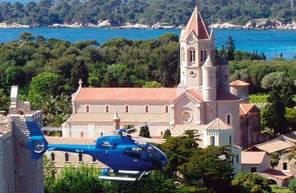 Baptême en hélicoptère à Cannes - Survol de de la Côte d'Azur en Hélicoptère