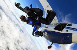 Saut en parachute Tandem dans l'Orne au dessus du Parc Naturel du Perche