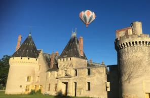 Baptême en montgolfière près de Nevers - Survol de la Nièvre