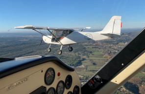 Initiation au pilotage d'avion près de Marseille