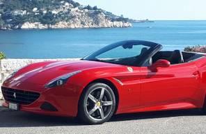 Baptême et conduite sur Route pour 2 en Ferrari California T à Nice et Monaco