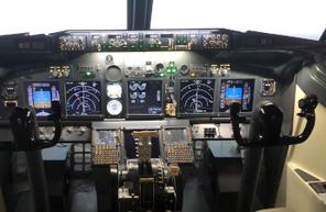 Simulateur de vol sur Boeing 737NG à Poitiers