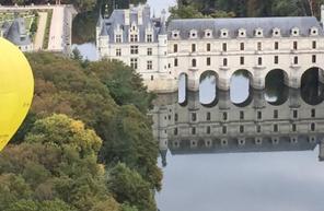 Vol en Montgolfière au dessus des châteaux de la Loire