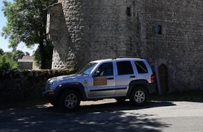 Randonnée en tout terrain dans le Larzac et le sud de l'Aveyron