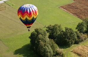 Vol en montgolfière près de Saumur et de la Vienne