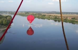Vol privatif en montgolfière près de Loches et la Vallée du Cher