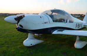 Formation de pilote d'avion à côté de Paris