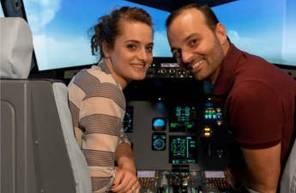 Simulateur d'avion Airbus A320 à Lyon