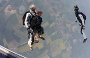 Saut en Parachute Tandem à Nevers