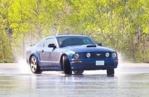 Pilotage d'une Mustang Shelby GT 500 - Circuit de Folembray