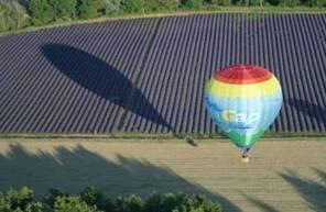 Vol en Montgolfière - tour à proximité des Gorges du Verdon