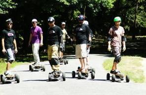Initiation au skate électrique tout terrain près de Nantes