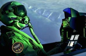 Simulateur d'avion de chasse F16 Fighting Falcon à Lyon