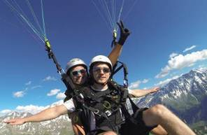 Vol Performance en Parapente aux Arcs