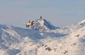 Baptême en hélicoptère - Survol en Hélicoptère du Mont Blanc