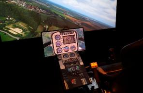 Simulateur de vol et formation au pilotage d'hélicoptère près de Versailles