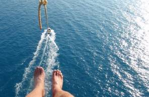 Vol en Parachute Ascensionnel et balade en Kayak près d'Antibes