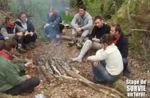 Stage de survie de 4 jours façon Bite & Couteau dans le Périgord
