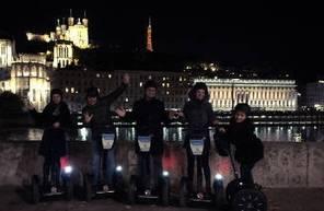 Balade nocturne Segway Lyon