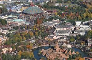 Baptême en ULM au dessus de Disneyland Paris