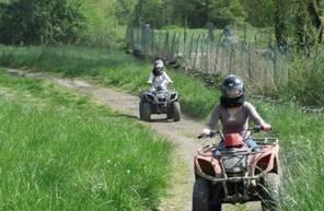 Randonnée en Quad près du Mans