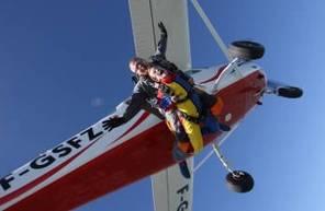 Saut en Parachute Tandem à Lons-le-Saunier