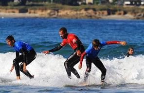 Cours de Surf près de Brest