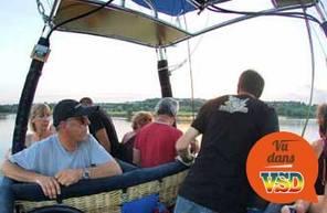 Vol en montgolfière au dessus du Parc du Vexin