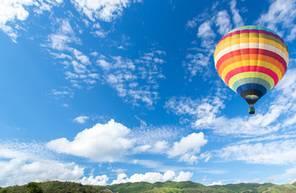 Vol en montgolfière près d'Evreux - Survol de Giverny en Normandie