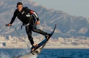 Initiation à l'Hoverboard sur la lage de la Mala près de Monaco