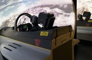 Simulateur d'Avion Chasse F18 à Lyon