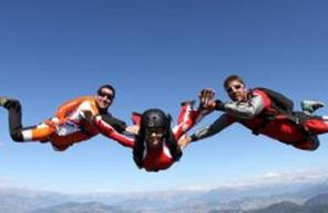 Saut d'initiation PAC en parachute à Gap à proximité de Grenoble