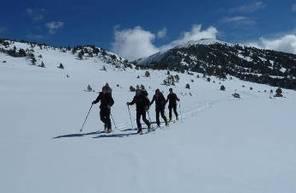 Randonnée de Ski à Bolquere