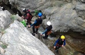 Canyoning à Ancelle près de Gap
