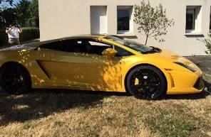 Baptême sur Route en Lamborghini près d'Angers