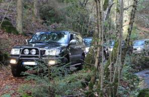 Randonnée en 4x4 dans le Parc Régional du Morvan