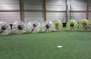 Partie de Bubble Bump à Besançon