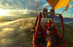 Vol en montgolfière d'altitude - Balade à Savines le Lac