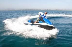 Randonnée et sortie en Jet-Ski le long de la Presqu île de Giens à Hyères