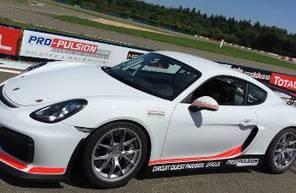 Stage de Pilotage en Porsche Cayman GT4 Cup - Circuit de l'Ouest Parisien