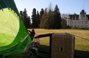 Vol en Montgolfière VIP dans le haut Poitou en nacelle privée