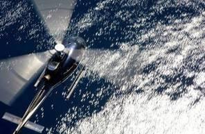 Vol en Hélicoptère au dessus des Iles de Lérins au départ à Cannes