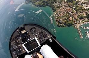 Baptême en ULM Autogire près de Toulon : Survol de la Côte d'Azur