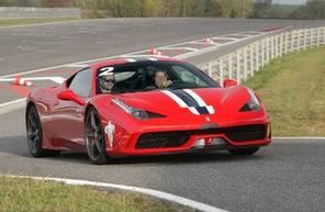 Stage de Pilotage en Ferrari F 458 Spéciale - Circuit de Pau Arnos