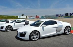 Pilotage d'une Audi R8 - Circuit de Chambley